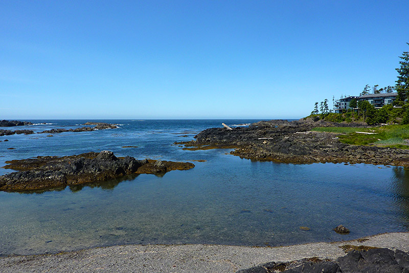 Big Beach in Ucluelet, West Coast Vancouver Island, British Columbia