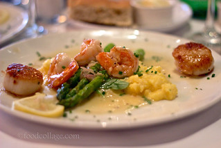 Limoncello Scallops and Prawns at Skates on the Bay (Berkeley CA) | by claramichelle
