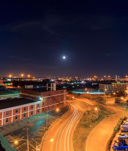 city nightphotography night texas citylights roads oldbuilding fortworth