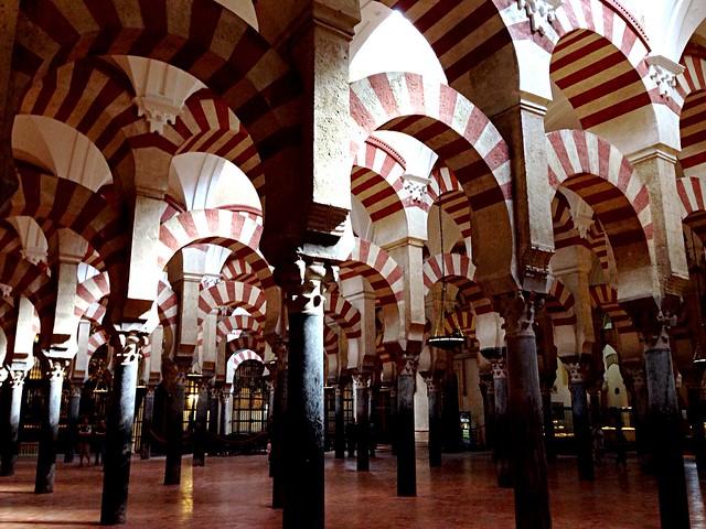 Mesquita de Còrdova. Mezquita de Córdoba. Mosquée de Cordoue. Cordoba Mosque.