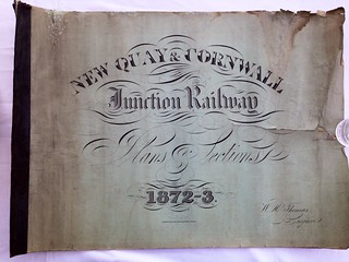 Newquay and Cornwall Junction Railway Plans 1872 | by ian.dinmore