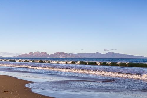 dolphinsands tasmania australia au beach waves freycinet