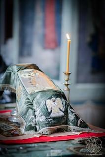 Литургия в Иверском монастыре 260