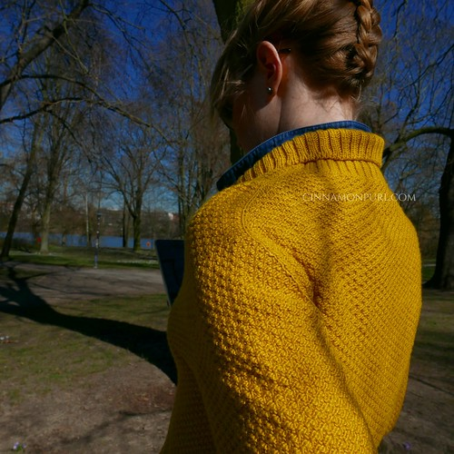 yellow cardigan | by Diana Prince