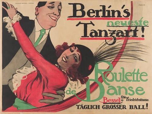 Berlin's newest dance style! Roulette Danse (c.1920)