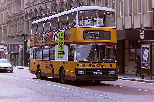 NEWCASTLE BUSWAYS, PART OF THE STAGECOACH GROUP 623 C623LFT