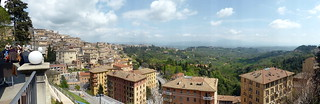 Perugia (#IJF17): View from Ristorante del Sole/Living Café | by pjebsen