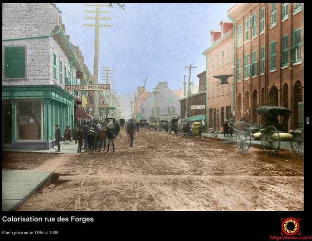 Colorisation rue des Forges