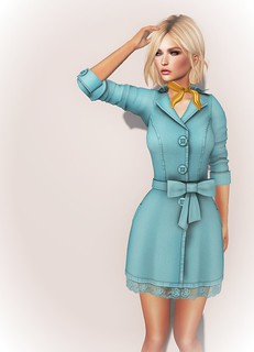 Poppy Little Trench Coat | by Carissa Crimson