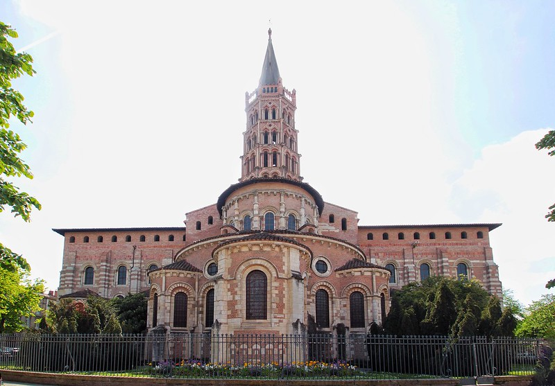 Basílica de Saint Sernin. Cabecera