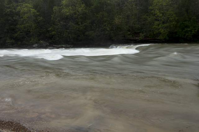 Caney Fork River, Clifty area, Cumberland County, Tennessee