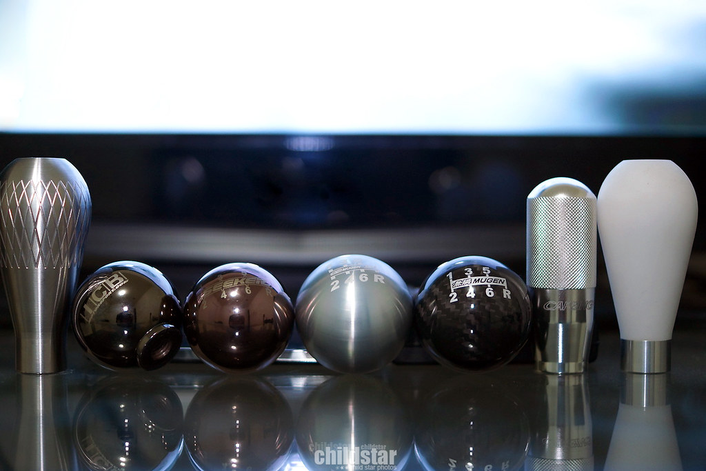 Shift knob collection | 574g K-Tuned Lagrima 411g ICB 6 spee