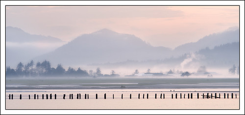 usa mist mountains water weather oregon river landscape tillamook pastel photostyles