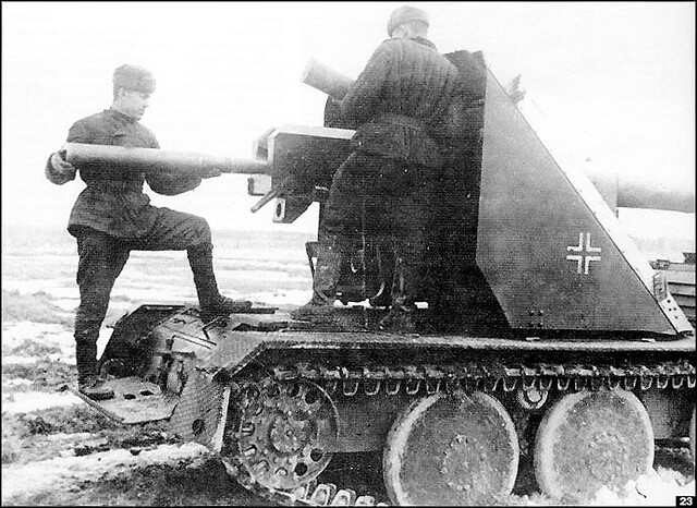 Captured Ardelt/Krupp Waffentrager