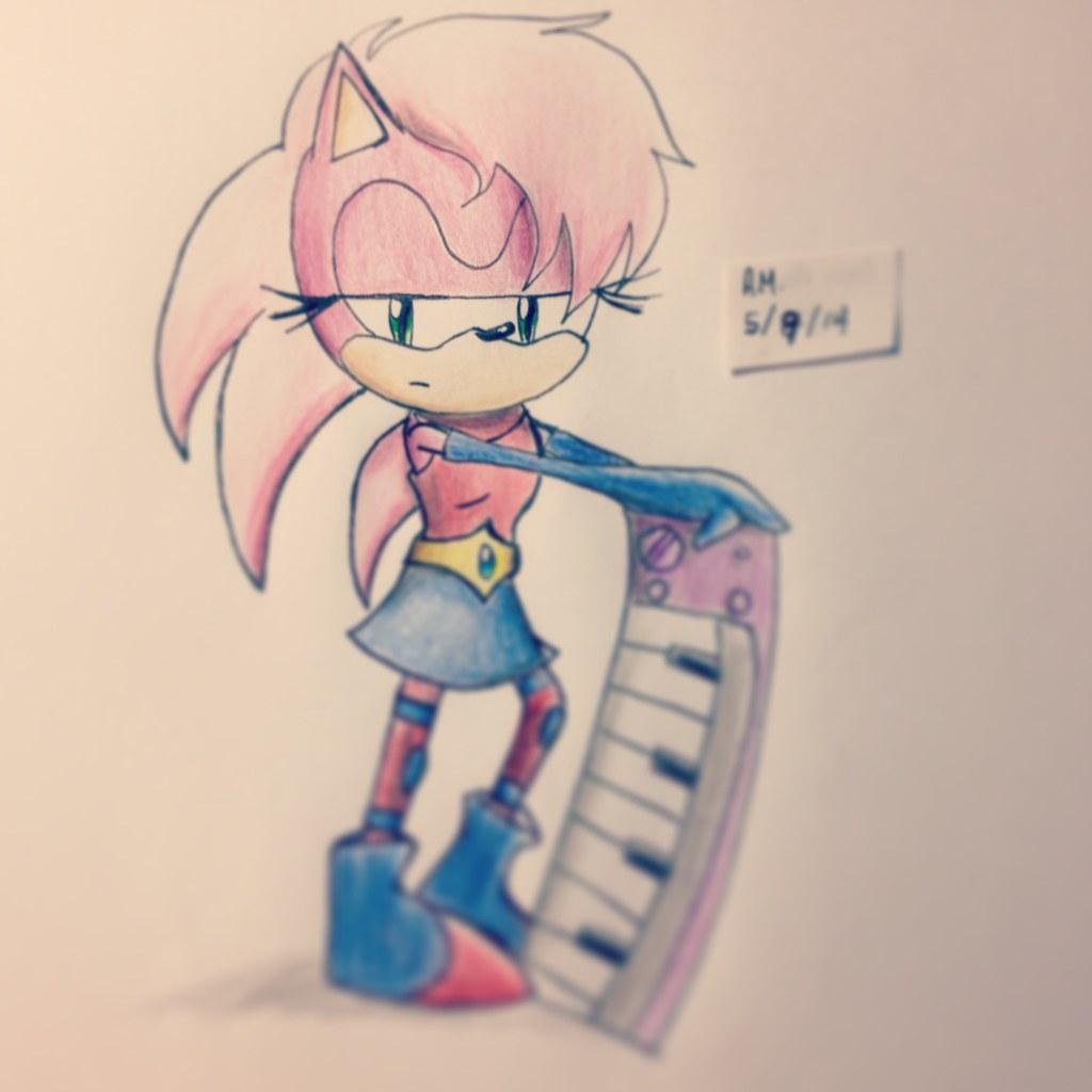 Sonic The Hedgehog Amy Rose Sonic Boom Ilumina Flowlight C Flickr
