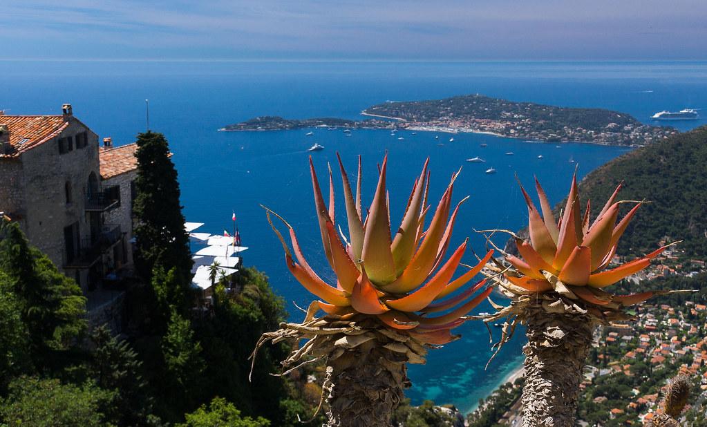 View from the Jardin Exotique, Eze | Cap Ferrat in the dista… | Flickr