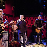 Mon, 12/05/2014 - 7:43pm - Aimee Mann and Ted Leo in duo form (plus band), in concert for an audience of WFUV members. 5/12/14 at Rockwood Music Hall. Hosted by Eric Holland. Photo by Laura Fedele