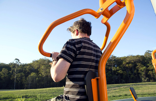 Exercise equipment in Council parks