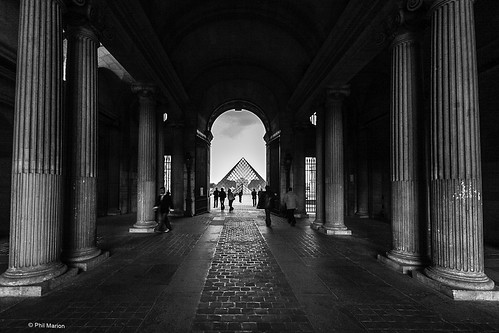 The Louvre  - Paris | by Phil Marion (177 million views - THANKS)