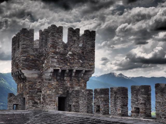 Castello di Sasso Corbaro - Explore #41