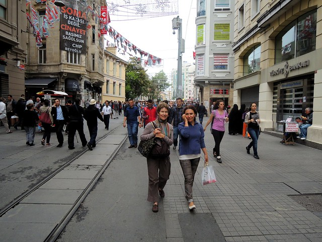 İstiklal Caddesi by bryandkeith on flickr