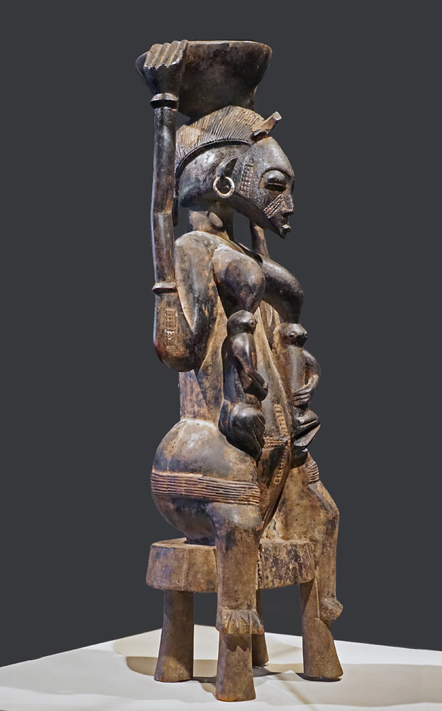 Maternité assise (Musée du quai Branly - Jacques Chirac, Paris)