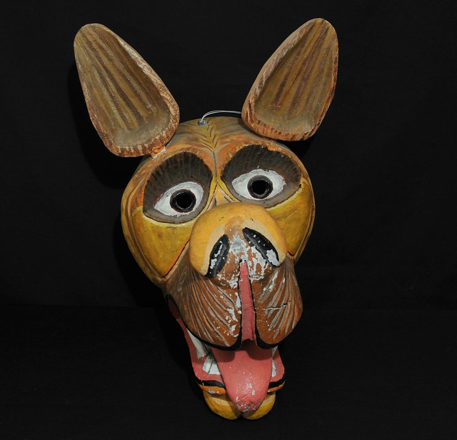 Dog Perro Mask Tigua Ecuador