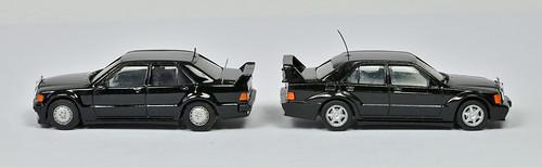Mercedes 190 Evolution I & II (Herpa) | by RVZ981