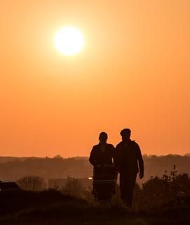 Trooper's Hill Sunset
