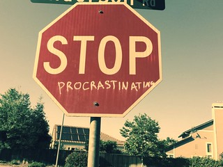 STOP procrastination   by Lynn Friedman