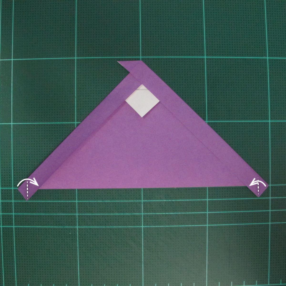 การพับกระดาษเป็นรูปแม่ชี (Origami Nun) 004
