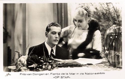 Fien de la Mar, Frits van Dongen in Op stap (1935)