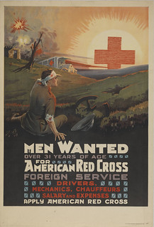Men Wanted for American Red Cross