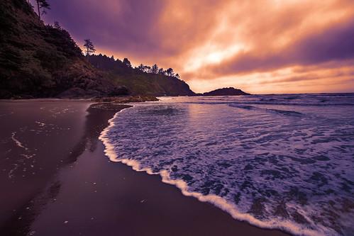 waikikibeach capedisappointmentstatepark beach surf sunsetfilter explore seascape ocean