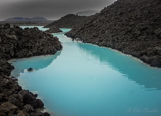 An Icelandic Blue Lagoon