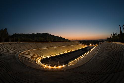 sunset architecture lights spring stadium landmark athens greece olympic classicalarchitecture kallimarmaro panathenaicstadium αθήνα officialnikkor athensclassicmarathon στάδιο παναθηναϊκό καλλιμάρμαρο club16 παναθηναϊκόστάδιο