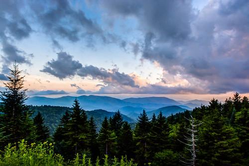 mountain landscape unitedstates july northcarolina blueridgemountains canton blueridgeparkway smokymountains 2014 greatsmokymountainsnationalpark