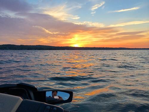 sunset sea lake wave runner doo photostream 155 canandaigua selfie gtx
