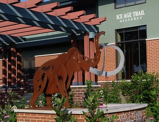 Mammoth sculpture at Ice Age Trail Alliance HQ in Cross Plains WI | by benet2006