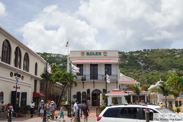 Rolex shop at A.H. Riise in Charlotte Amalie, St. Thomas