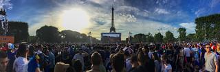 Public viewing Euro 2016 Paris