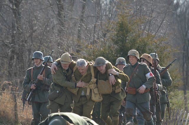 WW I Reenactment 1