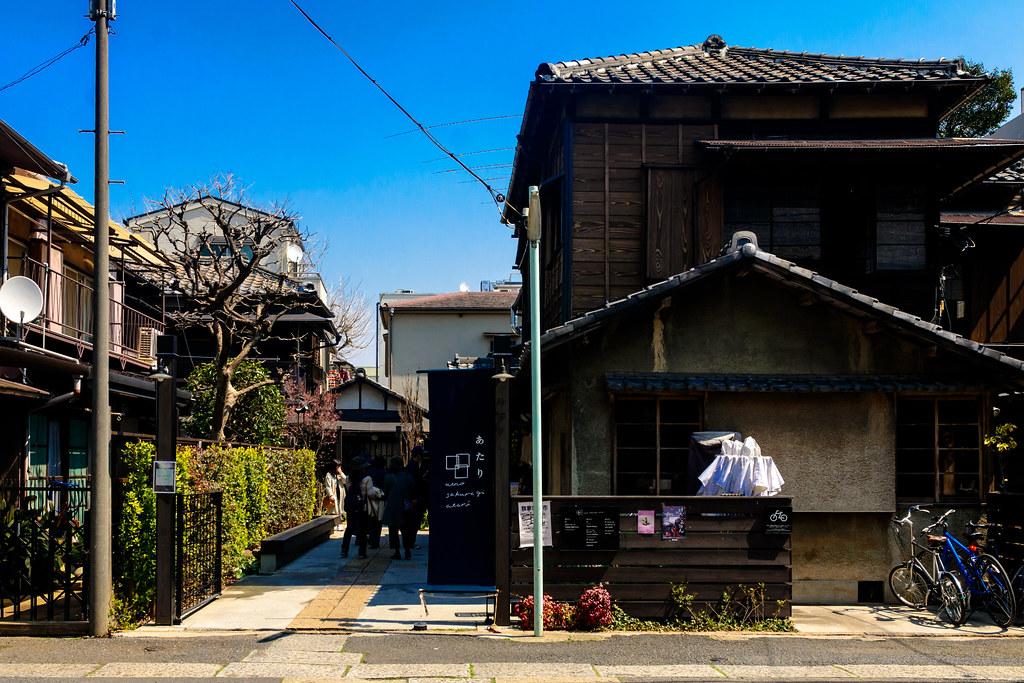 Ueno Sakuragi Atari  (Shops Using Old Private Houses)  : 上野桜木あたり