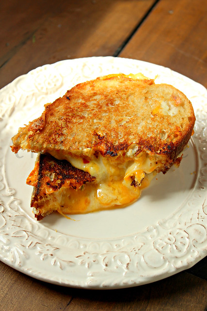 Four Cheese Grilled -edit