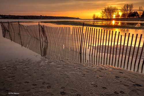 Sunrise over flooded Woodbine Beach pond - Toronto | by Phil Marion (173 million views - THANKS)