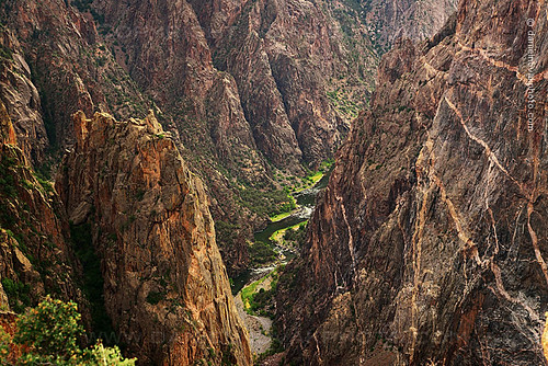 park usa texture nature river landscape outdoors us nationalpark colorado rocks unitedstates zoom deep rocky canyon sharp spire co jagged gorge montrose viewpoint depth crawford rugged gunnison fertileland