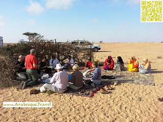 Breakfast with Omani locals - During 16 days tour 2013 | by Arabesque Travel Oman