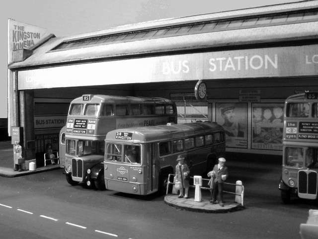 Model Kingston Bus Garage