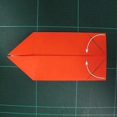 การพับกระดาษเป็นรูปปลาทอง (Origami Goldfish) 003