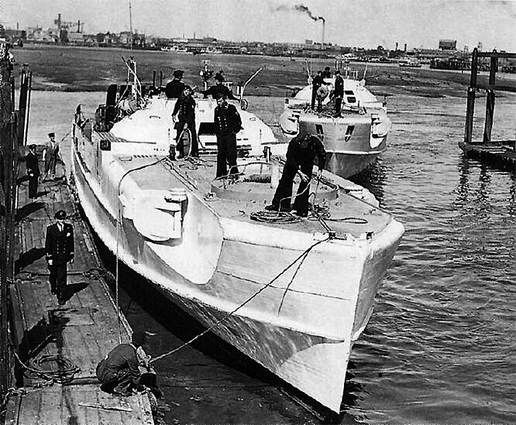 Il tedesco classe S torpediniere